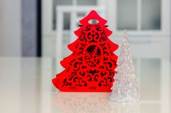 Рождество и Новый Год, ювелирные изделия, дерево, символы стоковое фото