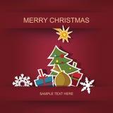 Рождество и Новый Год. Стоковая Фотография