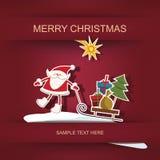 Рождество и Новый Год Стоковое Изображение