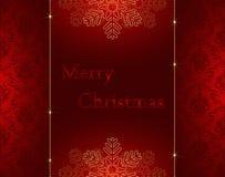 рождество карточки веселое Стоковое Фото