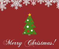 рождество карточки веселое Стоковое Изображение