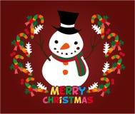 рождество карточки милое иллюстрация вектора