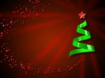 рождество карточки предпосылки Стоковое Изображение RF