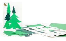 рождество карточки производит домодельное Стоковое Изображение RF