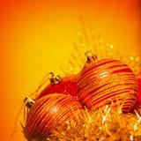 Рождество клокочет граница Стоковая Фотография