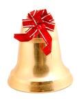 рождество колокола золотистое Стоковая Фотография