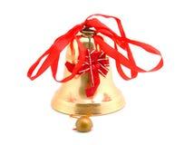 рождество колокола золотистое Стоковые Фото