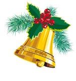 рождество колокола Стоковые Изображения