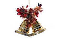 рождество колоколов золотистое Стоковые Фотографии RF