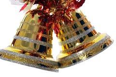 рождество колоколов золотистое Стоковое Изображение RF