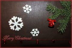 Рождество колокол Стоковые Фото