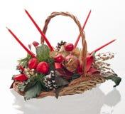 рождество корзины декоративное Стоковая Фотография RF