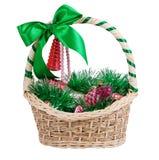 рождество корзины Стоковое Фото