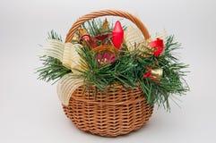 рождество корзины Стоковая Фотография RF