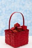 рождество корзины Стоковое Изображение RF