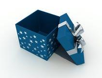рождество коробки открытое Стоковая Фотография