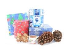 рождество коробки стоковые фото