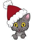 рождество кота Иллюстрация вектора