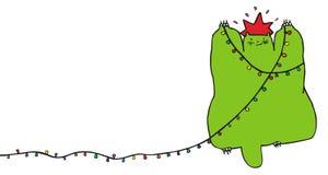 рождество кота Стоковые Фотографии RF