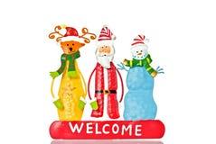 рождество, котор нужно приветствовать Стоковая Фотография RF