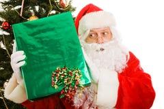 рождество любознательний santa Стоковое Изображение RF