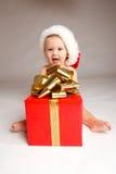 рождество мальчика Стоковое Изображение