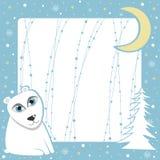 рождество медведя приполюсное Стоковая Фотография