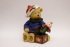 рождество медведя Стоковое фото RF