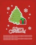 рождество минимальный новый год открытки s просто Стоковое фото RF
