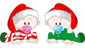 рождество младенцев Стоковые Изображения