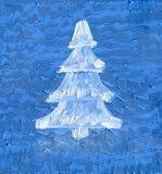 рождество моя версия вектора вала портфолио Картина маслом на стекле стоковые изображения