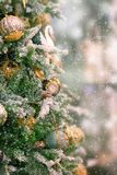 рождество моя версия вектора вала портфолио предпосылка красит желтый цвет праздника красный стоковое изображение