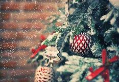 рождество моя версия вектора вала портфолио предпосылка красит желтый цвет праздника красный стоковое фото rf