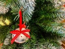 рождество моя версия вектора вала портфолио Украшенный с красочными шариками рождества стоковое фото rf