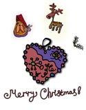 Рождество надписи веселое на дне изображения стоковые фото