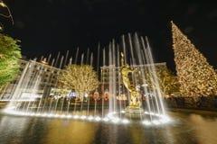 Рождество на торговом центре, Galleria Glendale стоковое изображение