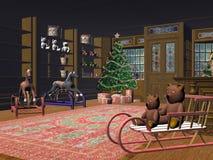 рождество немногая магазин Стоковые Фото
