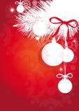 Рождество, Новый Год, вал cristmas, предпосылка Стоковые Фотографии RF