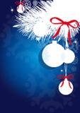 Рождество, Новый Год, вал cristmas, предпосылка Стоковое фото RF