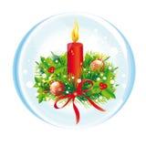 Рождество, Новый Год, вал cristmas, предпосылка Стоковые Фото
