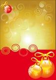 Рождество, Новый Год, предпосылка Стоковые Изображения