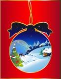 Рождество, Новый Год, предпосылка иллюстрация штока