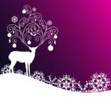 Рождество, Новый Год, предпосылка иллюстрация вектора