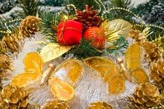 рождество орнаментирует вал Стоковое фото RF