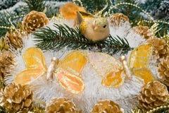 рождество орнаментирует вал Стоковая Фотография