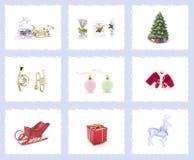 рождество орнаментирует вал Стоковые Изображения RF