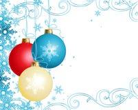рождество орнаментирует вектор Стоковые Изображения