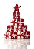 рождество орнаментирует красный цвет Стоковые Фото
