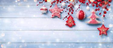 Рождество орнаментирует смертную казнь через повешение Стоковое Фото
