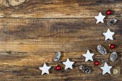 Рождество орнаментирует украшение Стоковые Фотографии RF